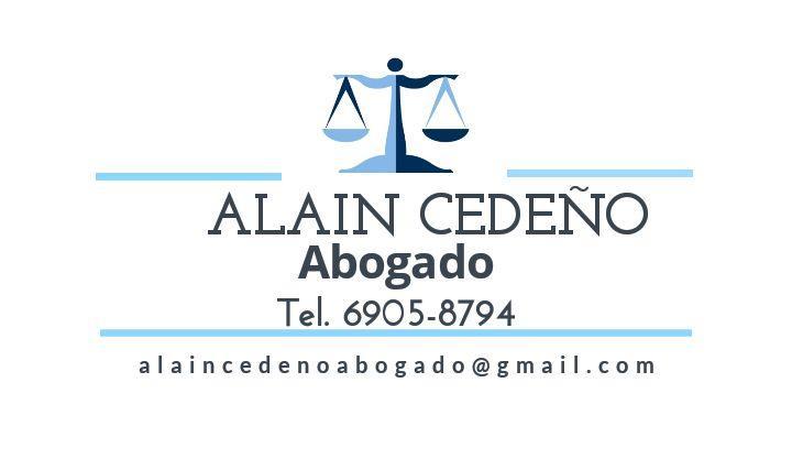 SERVICIOS LEGALES - LIC. ALAIN CEDEÑO ABOGADO